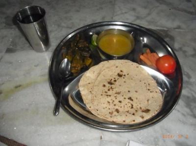 アシュラムの食事