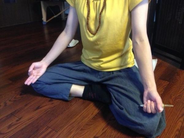 ヒーリングスティック(独鈷杵)瞑想
