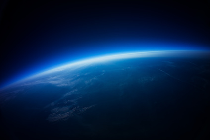 Near Space photography – 20km above ground / real photo